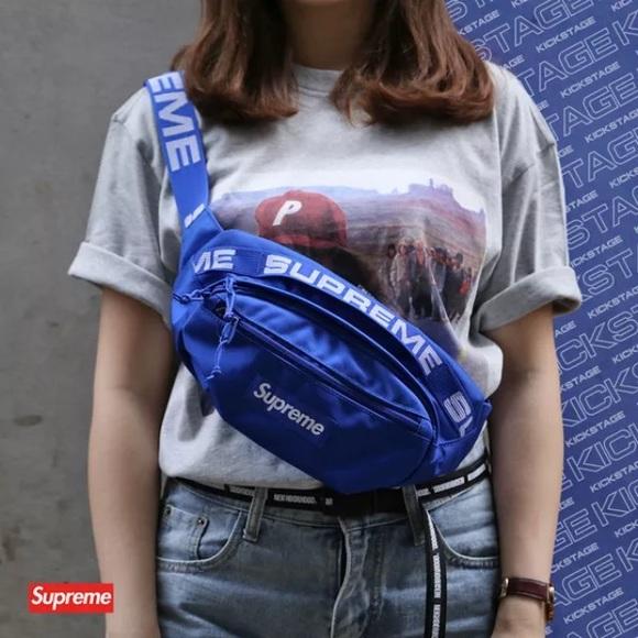 Supreme Waist//Shoulder Bag Fanny Pack for Women /& Men Cordura Blue And Khaki